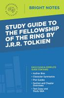 Study Guide to The Fellowship of the Ring by JRR Tolkien PDF