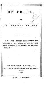 A Sermon on Fraud on Gen. xliii. 12 ... First American edition, etc