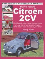 How to Restore Citroen 2CV PDF