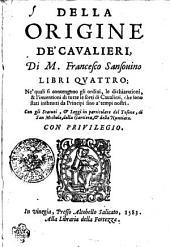 Della Origine De'Cavalieri