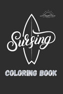 Surfing Coloring Book