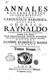 Annales ecclesiastici ab anno MCXCVIII: Volume 9