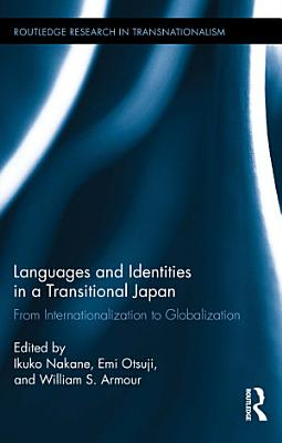 Languages and Identities in a Transitional Japan PDF