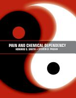 Pain and Chemical Dependency PDF