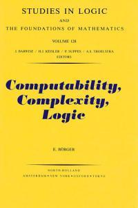 Computability  Complexity  Logic PDF