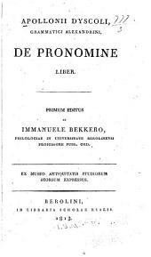 De pronomine liber