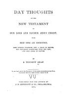Day Thoughts on the New Testament of Our Lord and Saviour Jesus Christ PDF