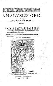 Analyseis geometricae sex librorum Euclidis