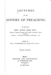 Lectures on the History of Preaching: Volume 41; Volume 108