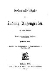 Ludwig Anzengrubers gesammelte werke ...