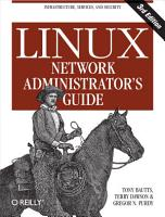 Linux Network Administrator s Guide PDF
