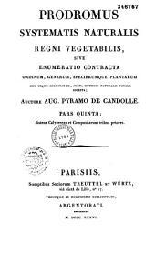 Prodromus sytematis naturalis regni vegetabilis