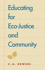Educating for Eco justice and Community PDF