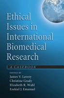 Ethical Issues in International Biomedical Research PDF