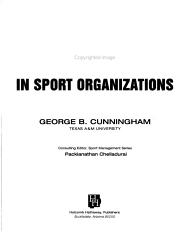 Diversity in Sport Organizations PDF
