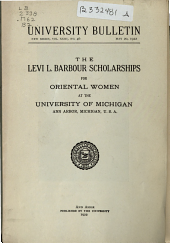 Barbour Scholarships for Oriental Women: Volume 23, Issue 46