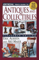 The Official Price Guide to Antiques and Collectibles PDF