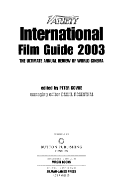 Variety International Film Guide PDF