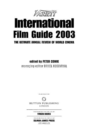 Variety International Film Guide PDF