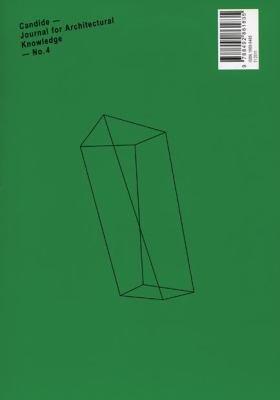 Candide   Zeitschrift Fur Architekturwissen