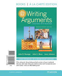 Writing Arguments Complete Edition