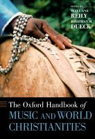 The Oxford Handbook of Music and World Christianities PDF