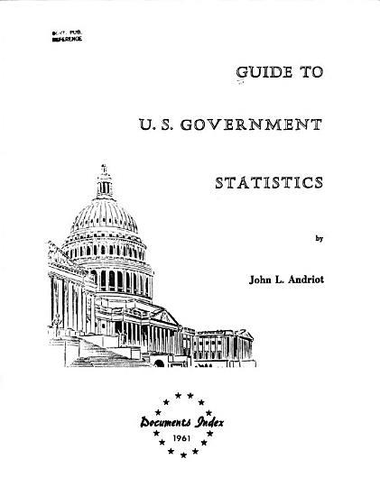 Guide to U S  Government Statistics PDF