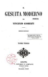 Il Gesuita moderno: Volume 3
