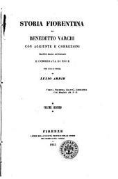 Storia fiorentina di Benedetto Varchi: Volume 2