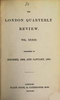 The London Quarterly Review PDF