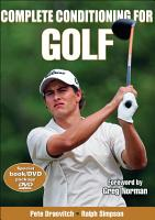 Complete Conditioning for Golf PDF