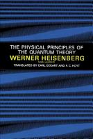 The Physical Principles of the Quantum Theory PDF