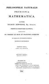 Philosophiæ naturalis principia mathematica: Volumes 1-2