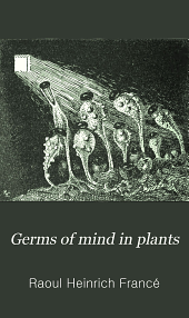 Germs of Mind in Plants