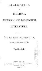 Cyclop  dia of Biblical  Theological  and Ecclesiastical Literature  C D PDF