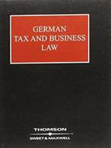German Tax and Business Law Book
