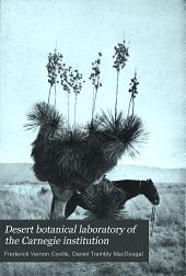 Desert Botanical Laboratory of the Carnegie Institution