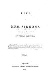 Life of Mrs. Siddons: Volumes 1-2