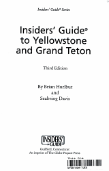 Insiders  Guide to Yellowstone and Grand Teton PDF