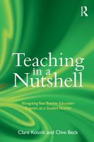 Teaching in a Nutshell PDF