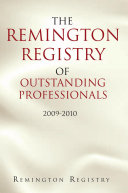 The Remington Registry of Outstanding Professionals