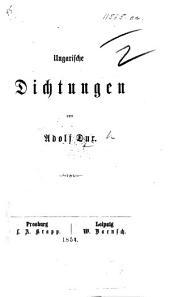 Ungarische Dichtungen