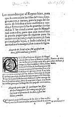 Los Acuerdos que el Reyno hizo, para que se continuen las sisas del vino, vinagre, azeyte, y carnes, para la paga del seruicio de los diez y siete millones y medio, y forma que se ha de guardar en vsar dellas, etc