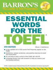 Essential Words for the TOEFL, 6th ed.