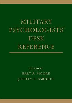 Military Psychologists  Desk Reference PDF