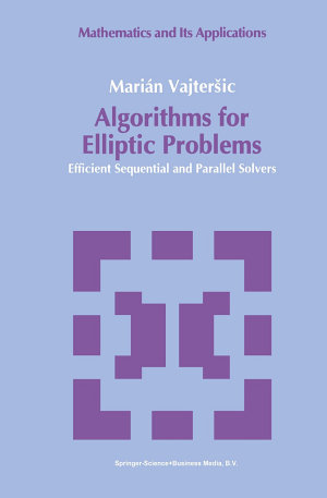 Algorithms for Elliptic Problems