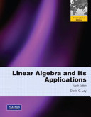 Lay:Linear Algebra and Its Applications