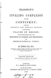 Bradshaw's invalid's companion to the Continent
