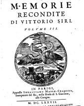Memorie recondite dall' anno 1601. sino al 1640: Volume 3