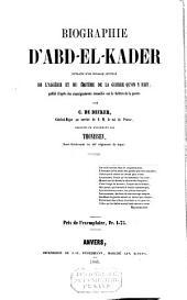 Biographie d 'Abd-el-Kader